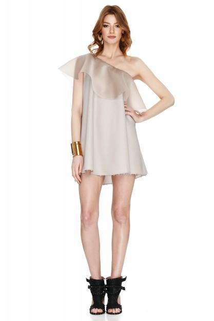 Pastel Pink Mini Dress