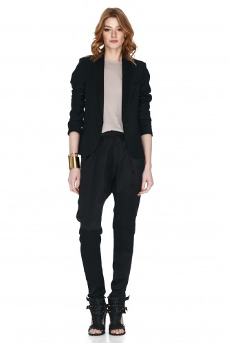 Black Slim Blazer - PNK Casual