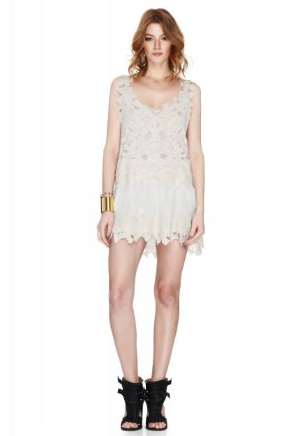 Off White Mini Dress