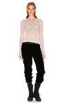 Rose Soft Wool Sweater