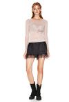 Black Silk Shorts