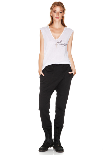 Black Track Pants - PNK Casual