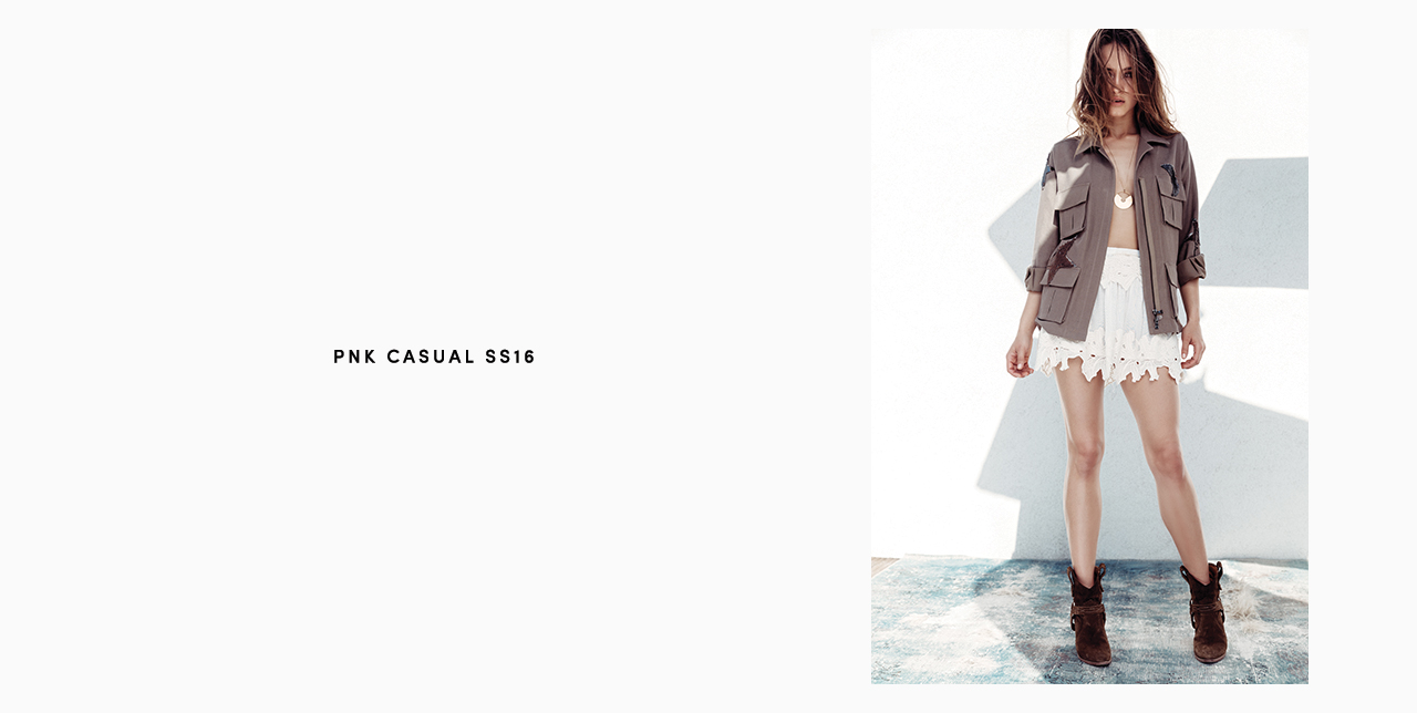 PNK casual Spring/Summer 2016 Collection - Limited Edition - 28