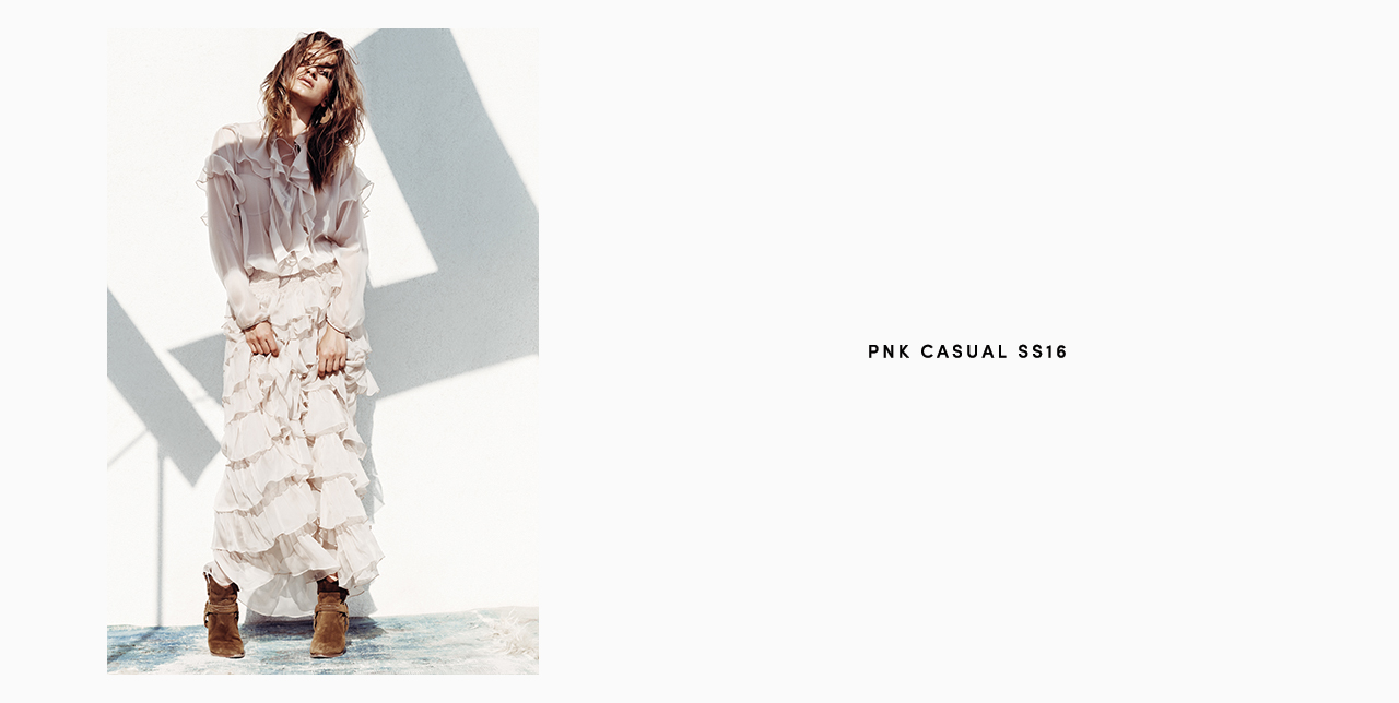 PNK casual Spring/Summer 2016 Collection - Limited Edition - 30