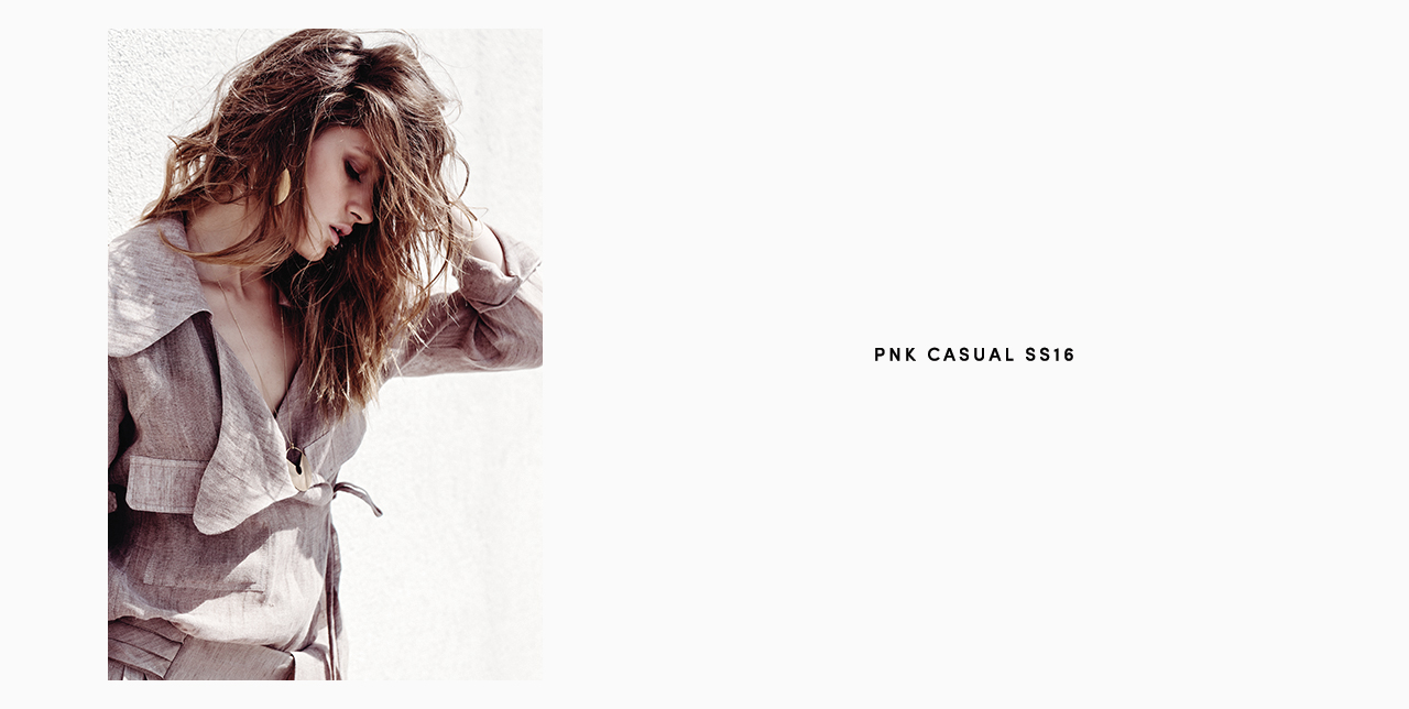 PNK casual Spring/Summer 2016 Collection - Limited Edition - 31