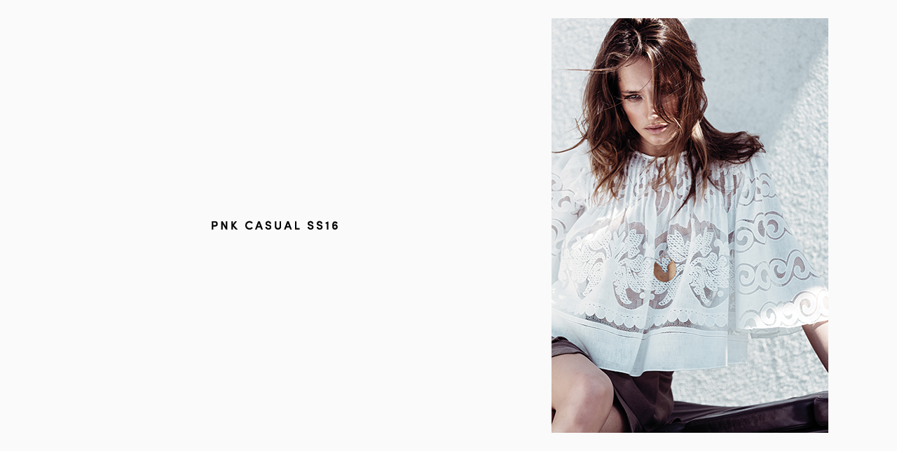 PNK casual Spring/Summer 2016 Collection - Limited Edition - 9